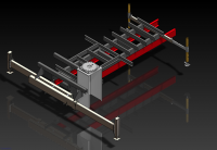 Venturo crane body substructure