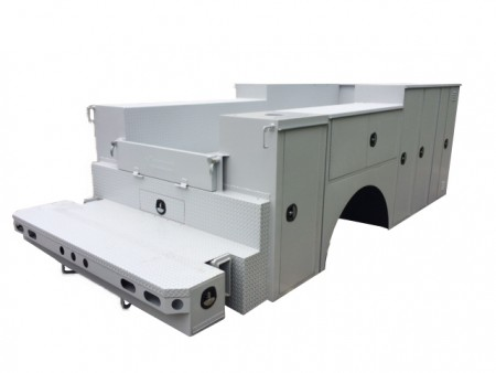 HT66 Crane Service Body
